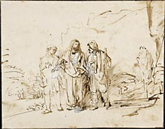 <i>The Disciples at Emmaus</i>