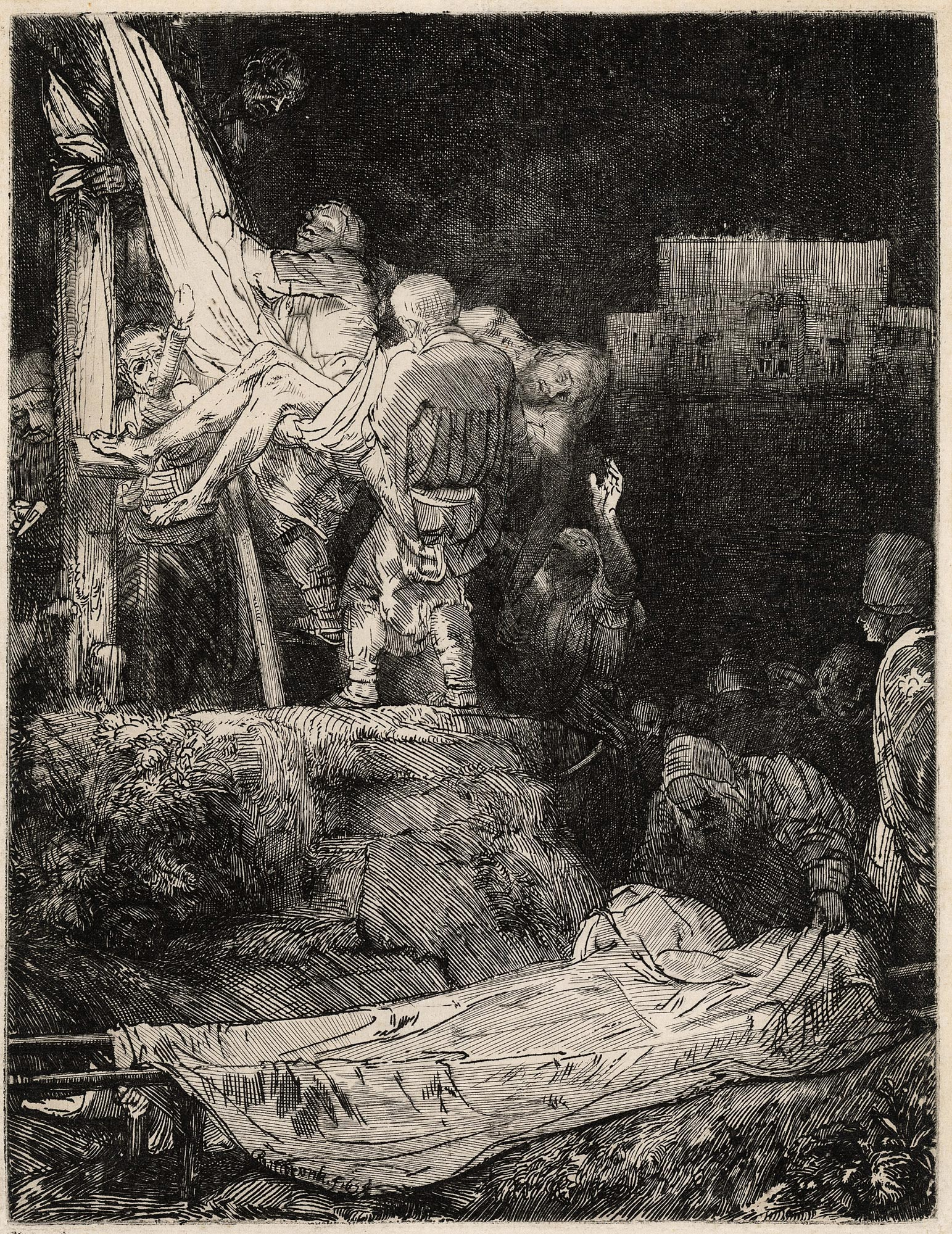 Rembrandt / The Descent from the Cross